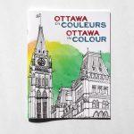 Cover image of Ottawa in Colour - colouring book